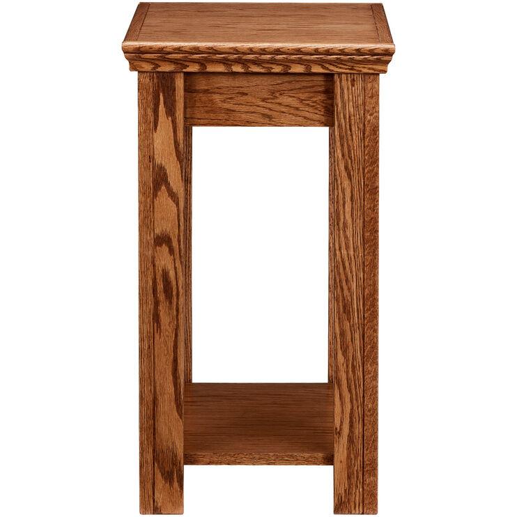 Chambers Golden Oak Chairside Table
