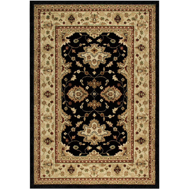 Four Seasons Shazad Green 5 x 8 Rug