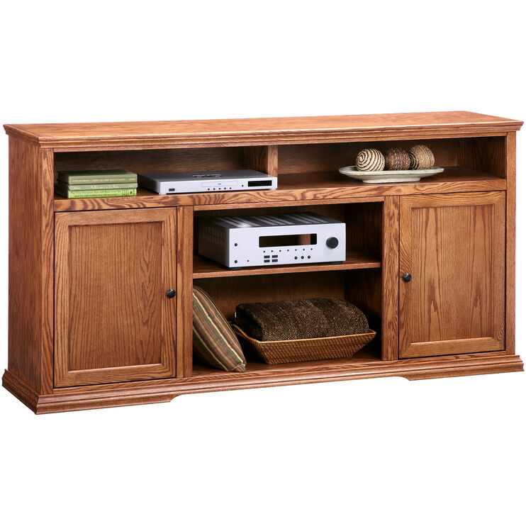 Chambers Golden Oak 72 Inch Hiboy Console