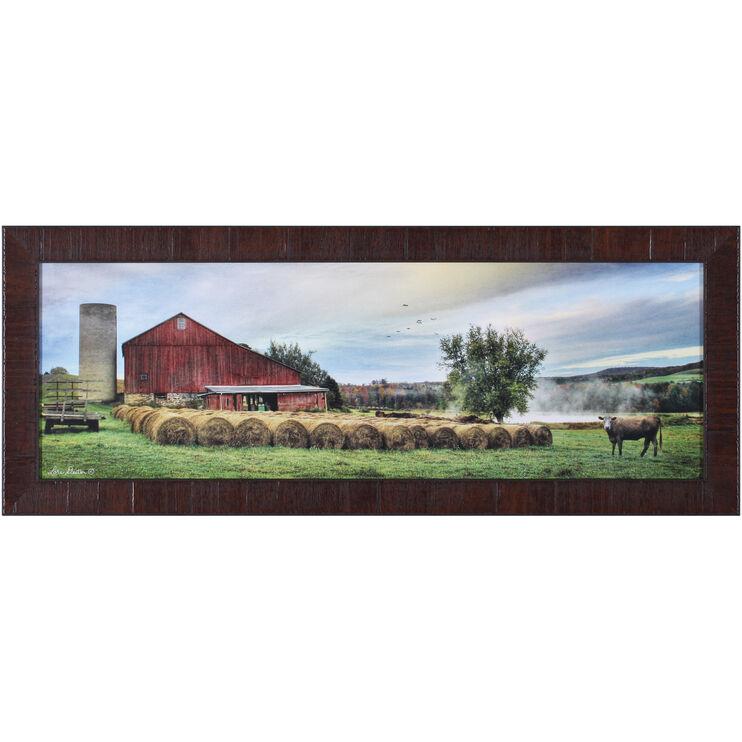 Farm Hay Harvest Wall Art