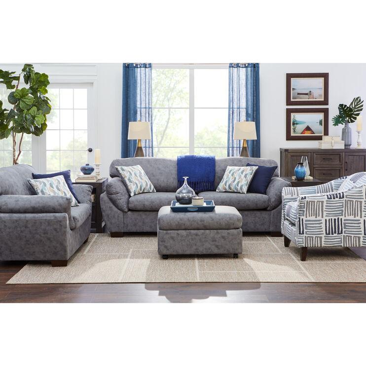 Milton Dark Gray Sofa