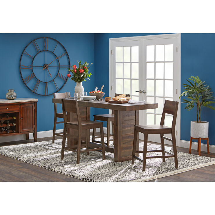 Slumberland Furniture 5 Piece Counter Height Dining Set