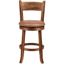 "Sante Fe Chocolate 24"" Backless Stool"