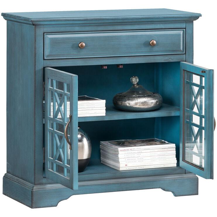 Chilton Antique Blue Cabinet