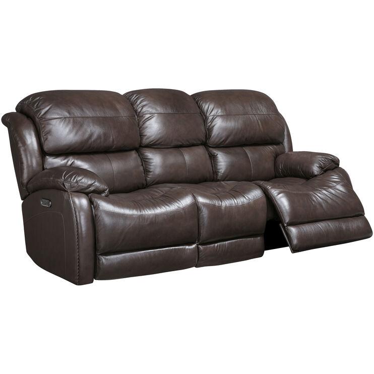 Pleasant Palmer Brown Power Plus Reclining Sofa Slumberland Furniture Ibusinesslaw Wood Chair Design Ideas Ibusinesslaworg