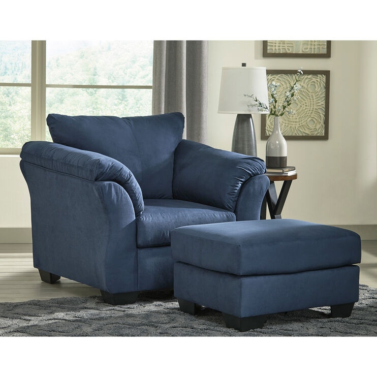 Marcy Blue Chair