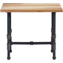Aspen Natural Rustic Maple End Table
