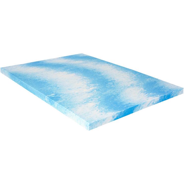 Sealy 3 Inch Gel Memory Foam Queen Mattress Topper
