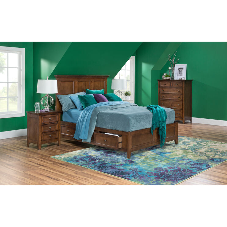 Slumberland Furniture San Mateo Queen Storage Bed