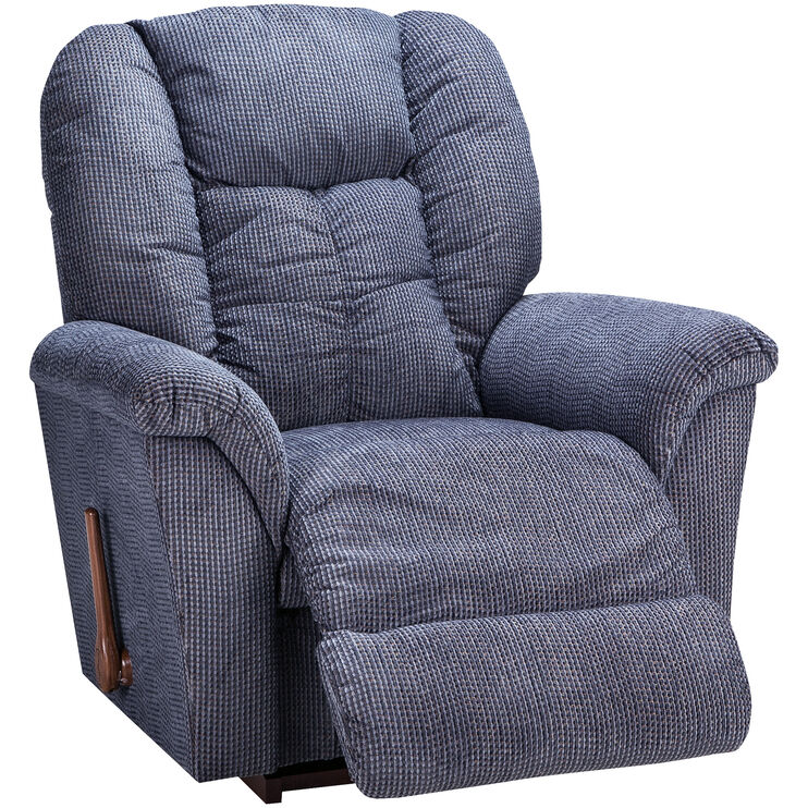 Slumberland Furniture La Z Boy Jasper Navy Rocker Recliner