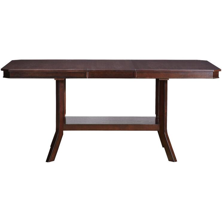 Bobbie Espresso Counter Dining Table