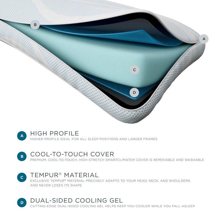 Tempur-Pedic TEMPUR-PRObreeze Queen High Profile Cooling Pillow