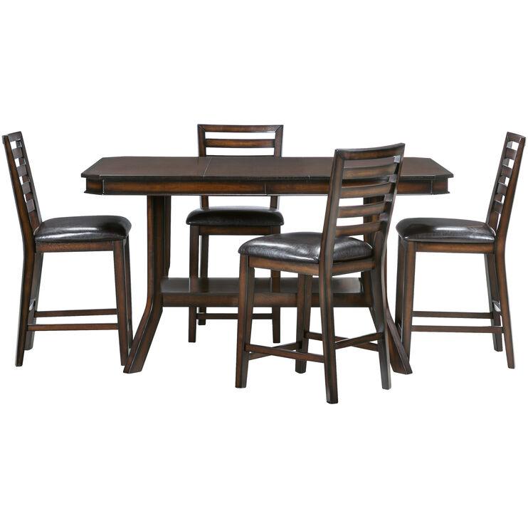 Bobbie Espresso Counter Dining Set
