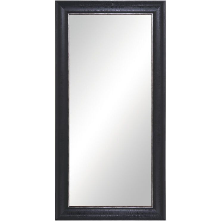 Black Floor Leaner Mirror