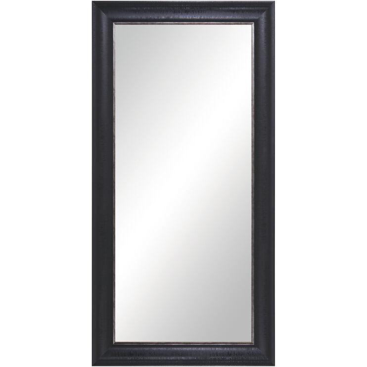 Mirror Black Floor Leaner