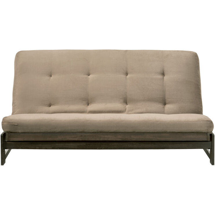 Microsuede Peat Futon Mattress