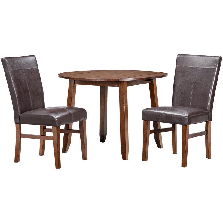 Slumberland Furniture Kona 3 Piece Raisin Parson