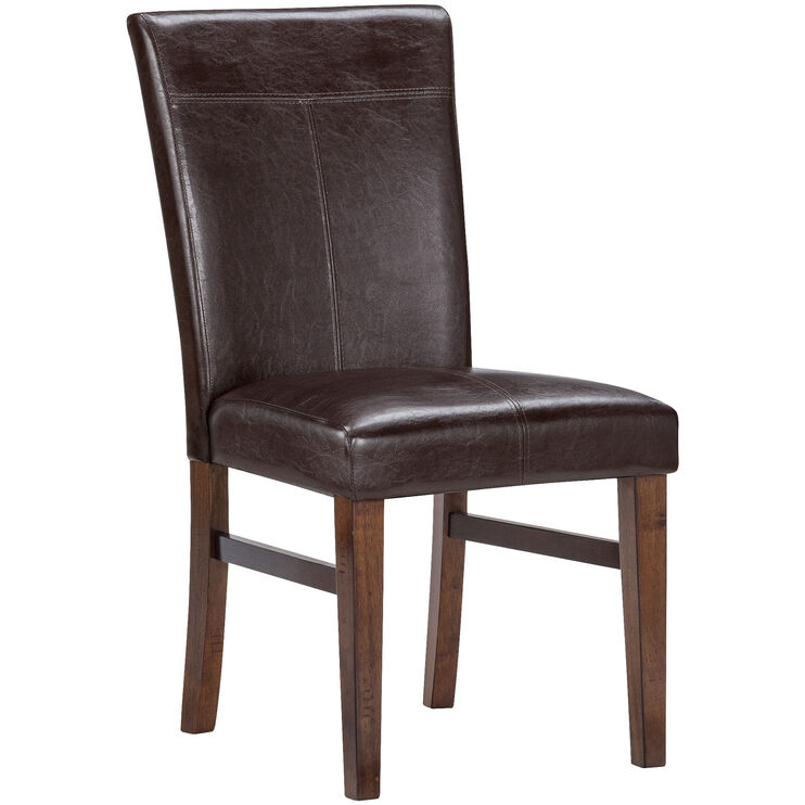 Kona Raisin Parsons Chair