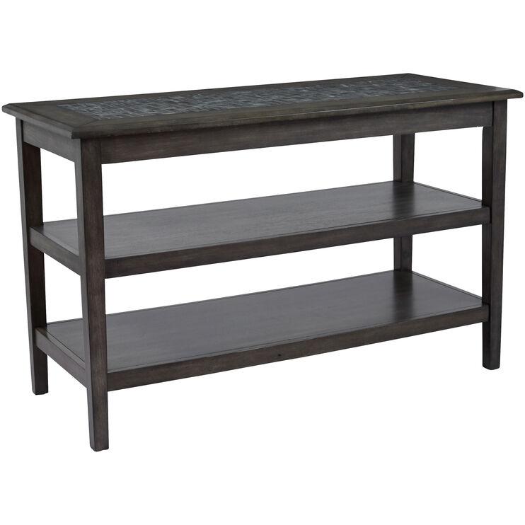 Mosaic Gray Sofa Table