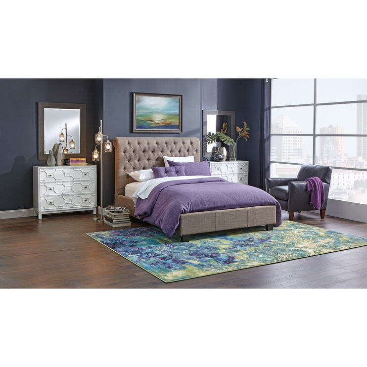 Royal Dolphin Queen Bed