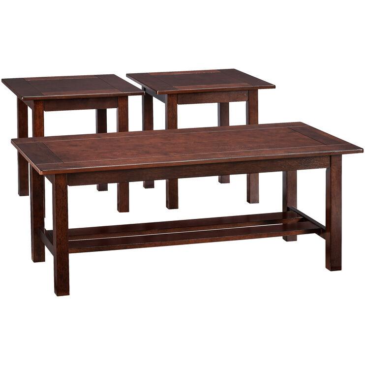 Lewis Brown 3 Pack Tables