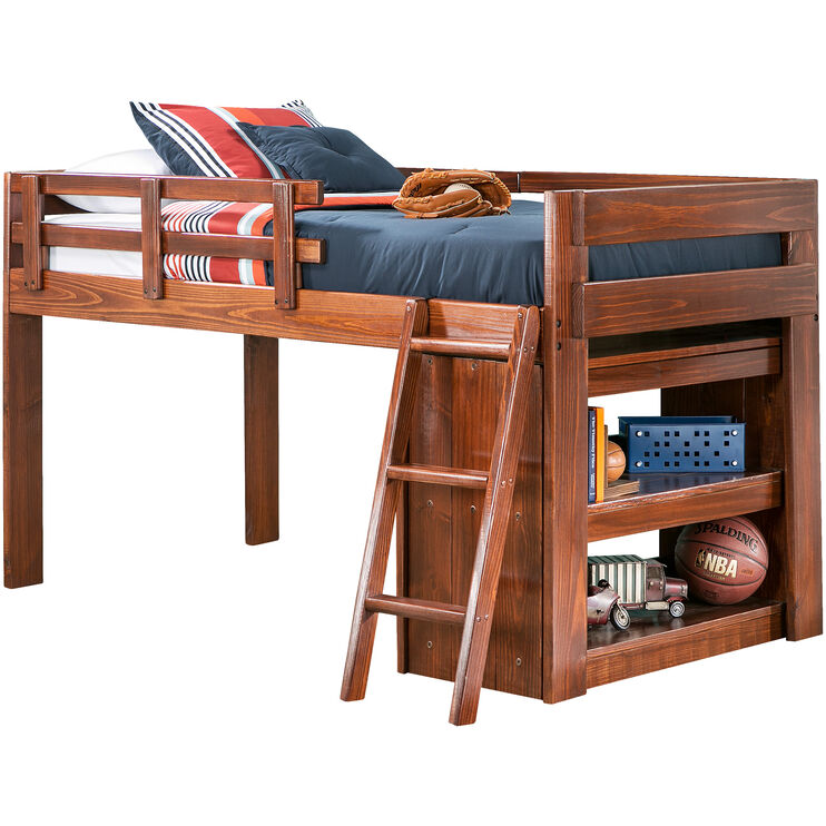Ashville Chocolate Loft Bed