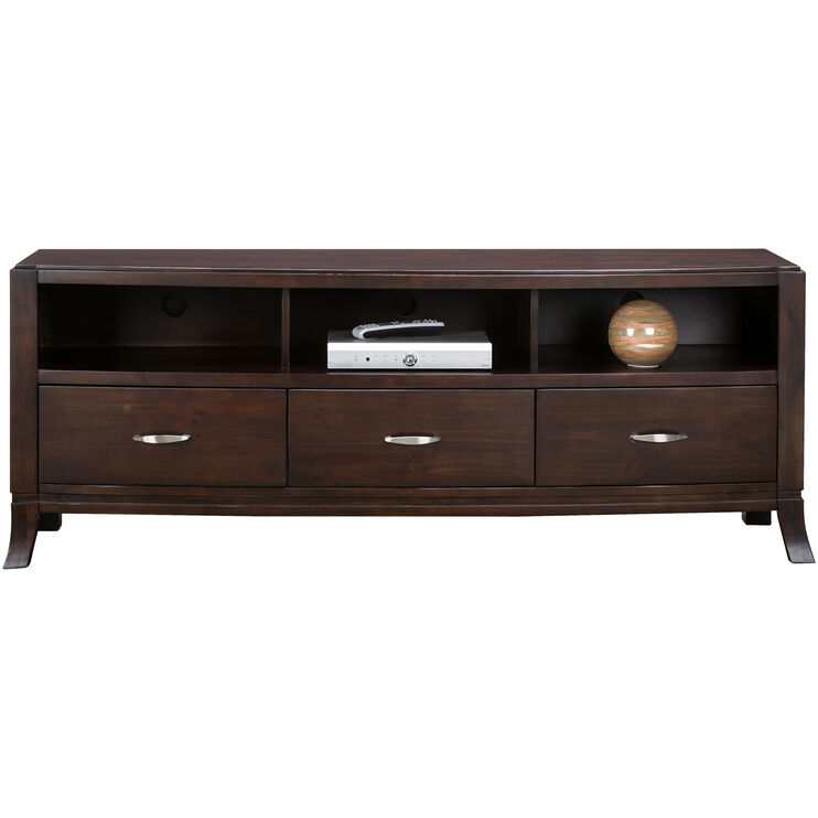 Downtown Merlot 70 Inch Console