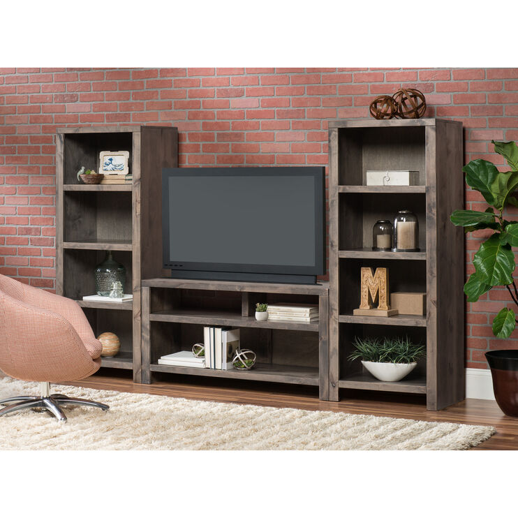 Joshua Creek Barnwood 3 Piece Entertainment Wall