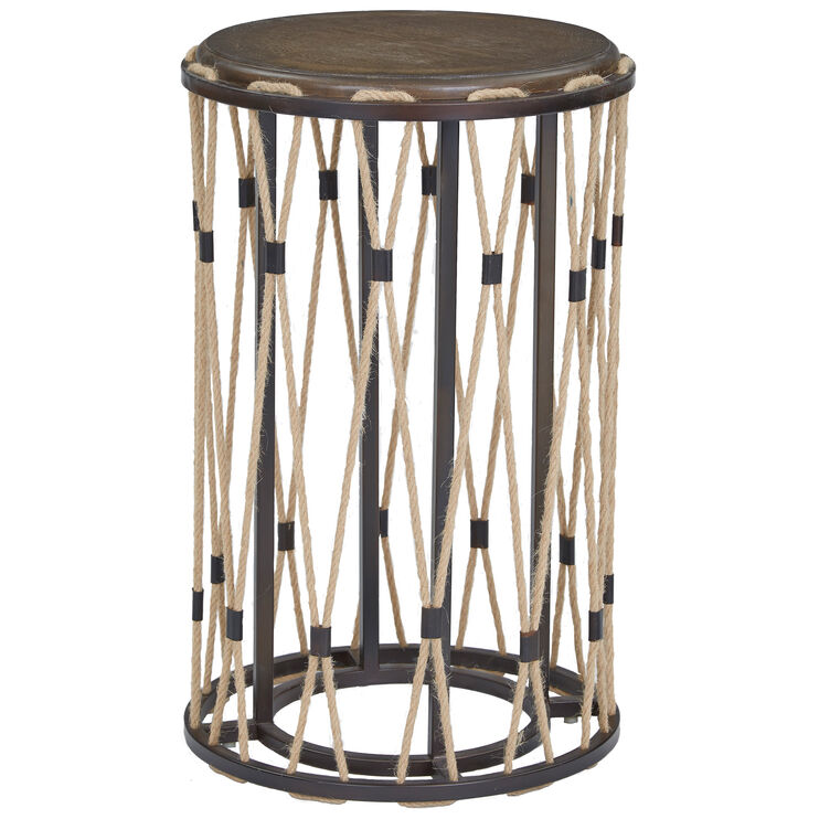 Nelly Latte Accent Table