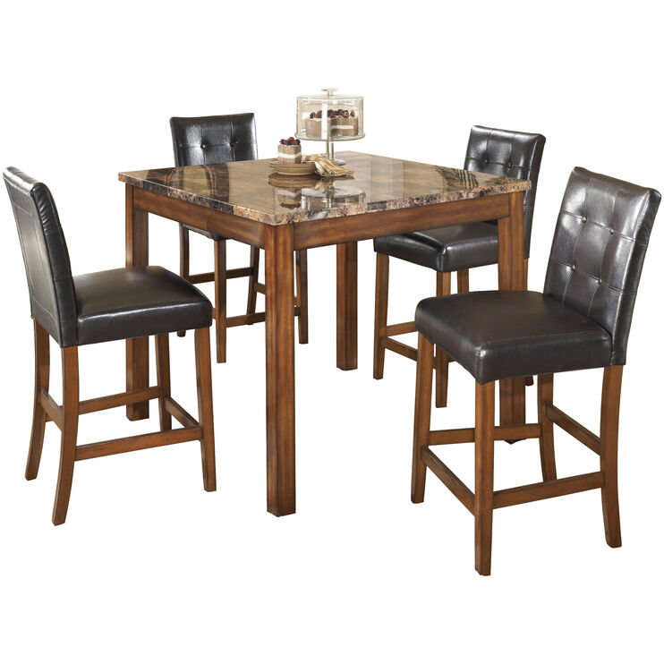 Theo Brown Counter Dining Set
