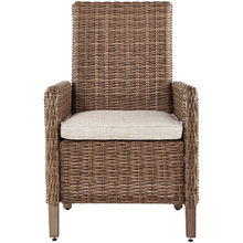 Beachcroft Beige Arm Chair with Cushion