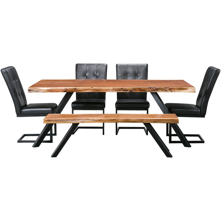 Reese 5 Pc Dining Set
