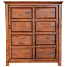 Hill Crest Dark Chestnut Armoire