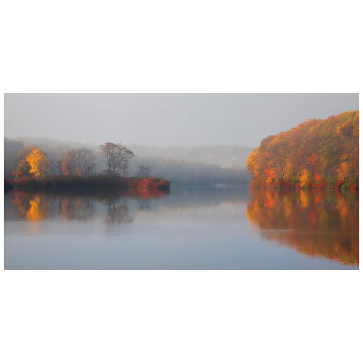Early Fall Morning Framed Art