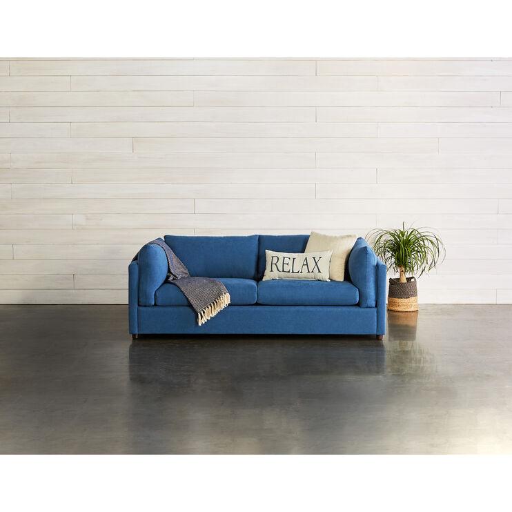 Lex Navy Sofa | Slumberland Furniture
