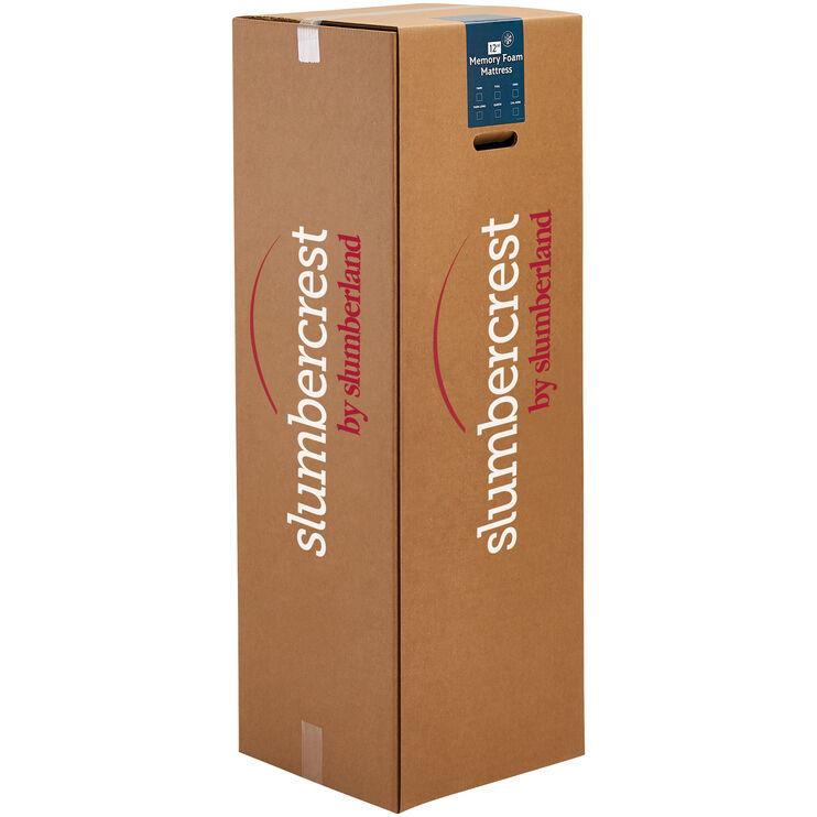 Slumbercrest 12 Inch Memory Foam King Mattress in a Box
