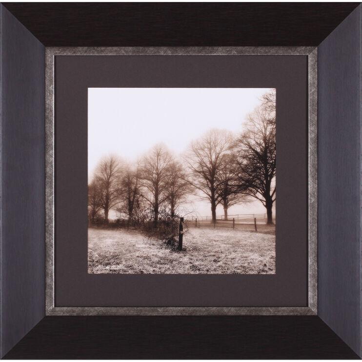 Fence Row & Trees Framed Art