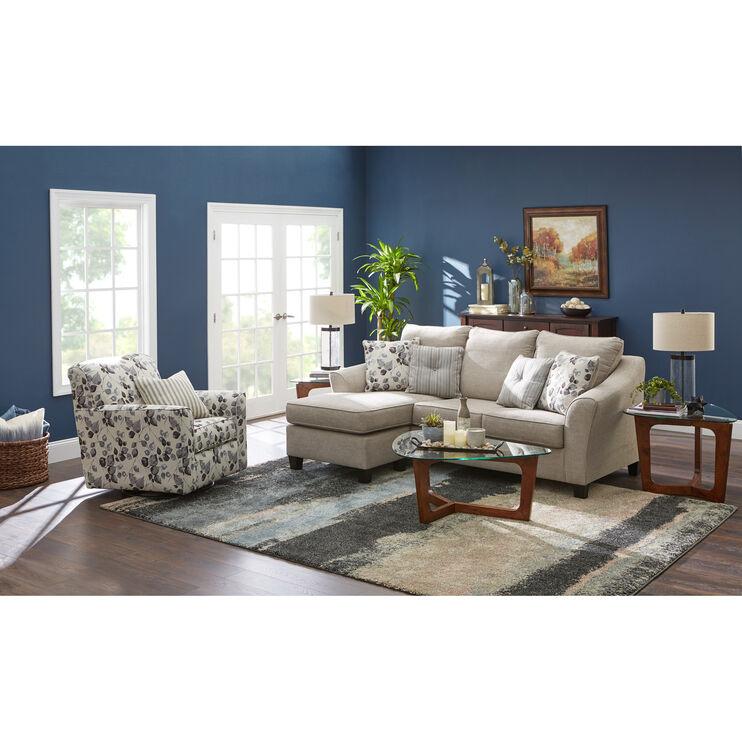Brilliant Cyprus Driftwood Sofa Chaise Slumberland Furniture Camellatalisay Diy Chair Ideas Camellatalisaycom