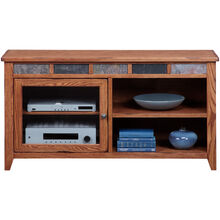 Evanston Antique Oak 54 Inch Console