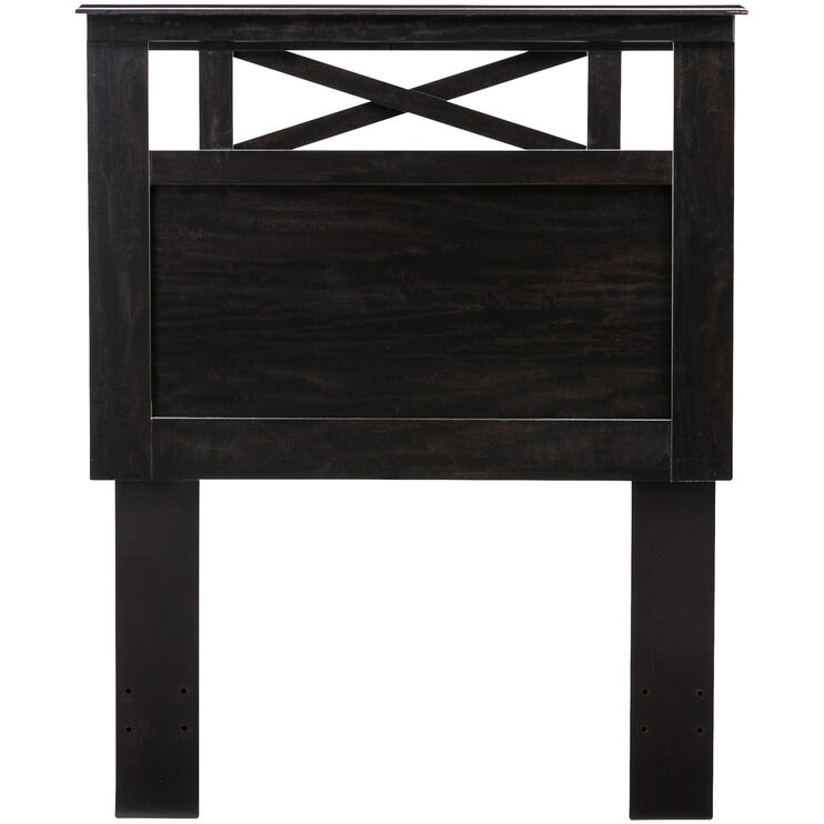 Tyler Merlot Twin Panel Headboard