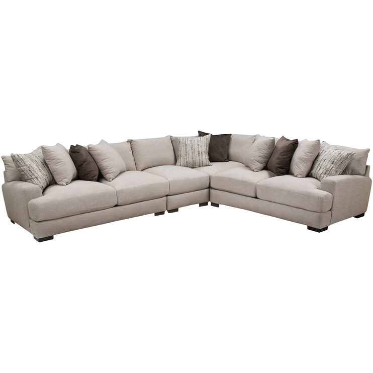 Wake Dusk 4Pc Sectional