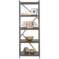 Basel 5 Shelf Bookcase