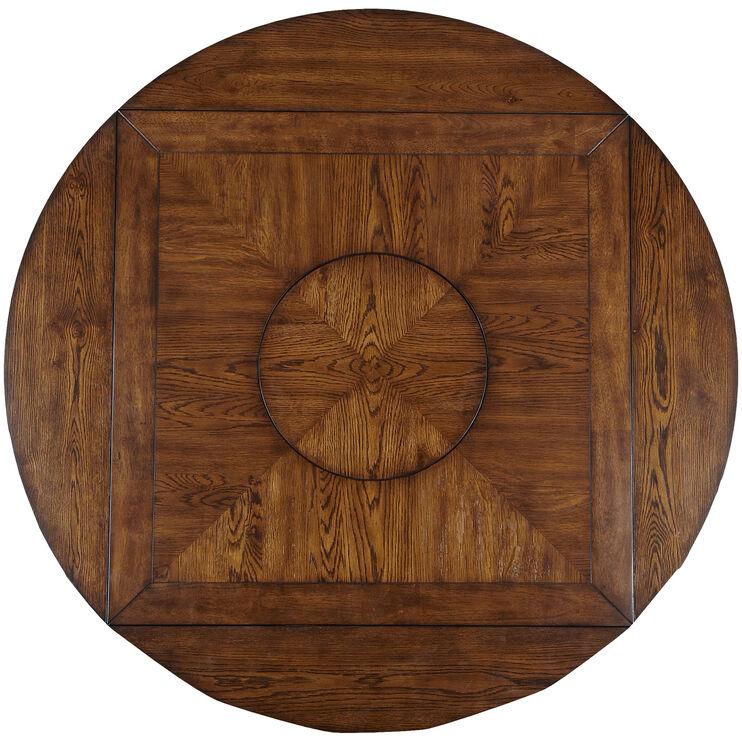 Brook Medium Oak Counter Dining Table