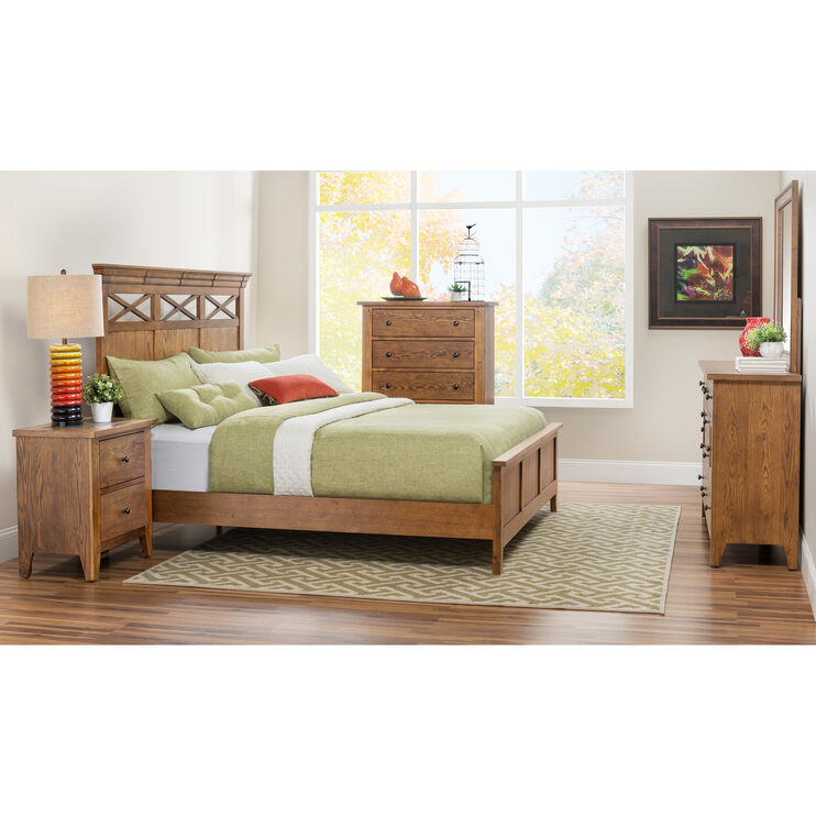 Hearthside Queen Panel Bed