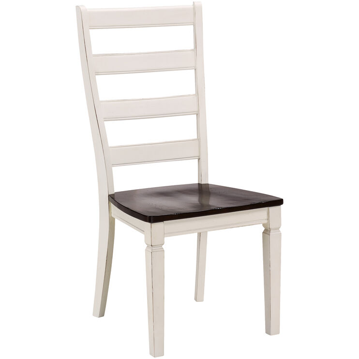 Glennwood White Chair
