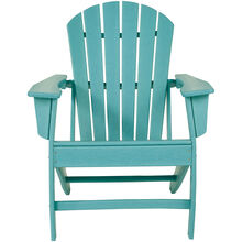 Sundown Turquoise Adirondack Chair