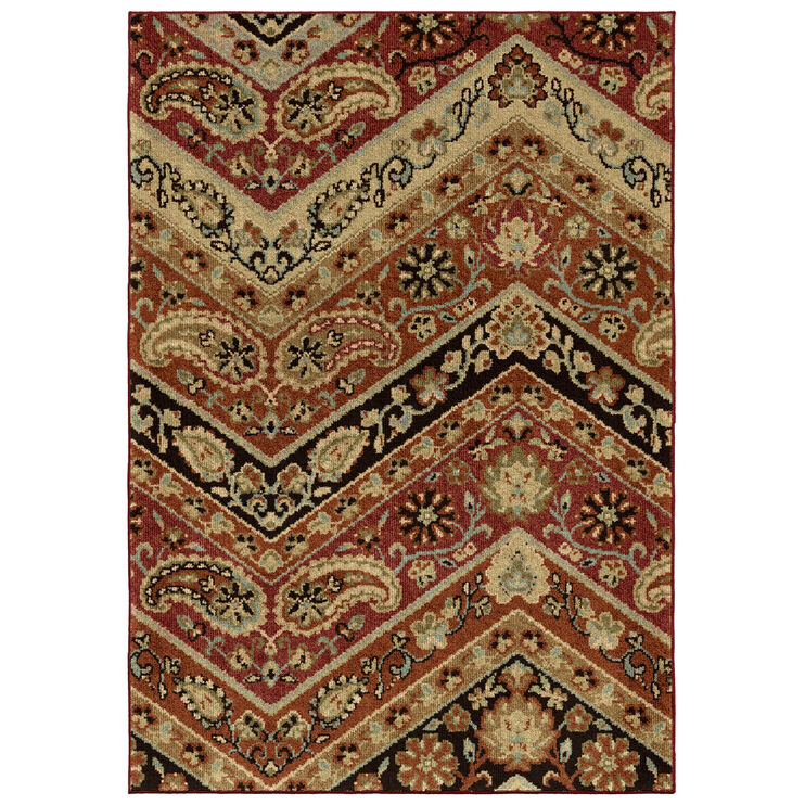 Heritage Paisley Point 5 x 8 Rug