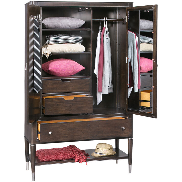 Slumberland Furniture Broyhill Vibe Cherry Armoire