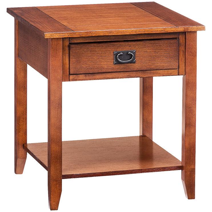 Rutledge Mission Oak End Table