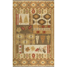 Northwoods Nature Brown 5x8 Rug